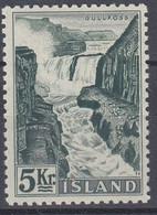 ++M1453. Iceland 1956. Waterfalls / Power. Michel 310. MNH(**) - Ungebraucht