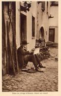 ILLUSTRATEURS  Dans Un Village D'Alsace HANSI Au Travail - Hansi