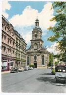 Saarbrücken ORSCHOLZ über MERZIG Beerdigungsinstitut BESTATTUNGEN VON RÜDEN Automobile Simca VW Bus Stempel Etc. Kirche - Turismo