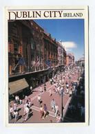 C.P °_ Irlande-Dublin City-Rue Piétonne-1992 - Dublin