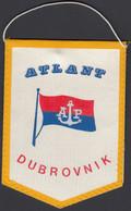 Croatia / Atlantska Plovidba Dubrovnik, Atlant, Shipping Company / Flag, Pennant - Other