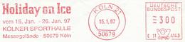 Freistempel Kleiner Ausschnitt 547 Holiday On Ice Sporthalle Köln - Affrancature Meccaniche Rosse (EMA)