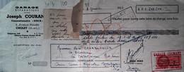 G 24 Lettre/document  Garage/concession Simca  à Cholet - Automovilismo