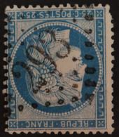 60B Planche 5 (cote 50 €) Obl GC 293 Bains-en-Vosges (82 Vosges ) Ind 4 - 1849-1876: Periodo Classico
