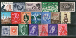 Egypt UAR Collection Of 19 Different Stamps On Diff. Themes MNH # 1512 - Sin Clasificación
