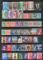 Egypt UAR Collection Of 56 Different Stamps On Diff. Themes MNH # 2383 - Sin Clasificación