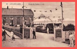 LUC SUR MER (14) Cpa ± 1930 Entrée Du Casino - Édit. LL N°22(¬‿¬) ♣ - Luc Sur Mer