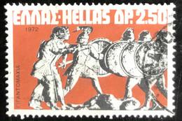 Hellas - Greece - A1/1 - (°)used - 1972 - Michel 1112 - Griekse Mythologie - Gebraucht