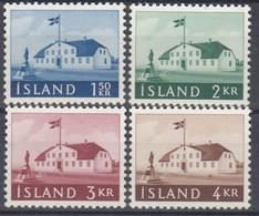 ++B1927. Iceland 1958-61. Parlament Building. Michel 329-30 + 347-48. MNH(**) - Ungebraucht