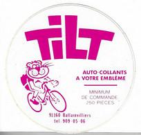 518 - AUTOCOLLANT (- TILT  (Entreprise De Fabrication D'autocollants) - Stickers