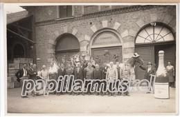 Sektkellerei Deinhard (Koblenz) Der Eiserne Gustav Zu Gast, 1928, Echtfoto-AK - Koblenz