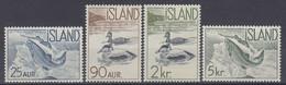 ++B1928. Iceland 1959. Fauna. Michel 335-38. MNH(**) - Ungebraucht