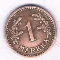 1 MARKKA 1942  FINLAND /3064/ - Finland