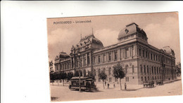 Montevideo, Universidad - Cartolina Postale Non Viagg. - Uruguay