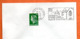 72 SILLE LE GUILLAUME   L' ARMEE DE BRETAGNE   1970   Lettre Entière N° GH 819 - Mechanical Postmarks (Advertisement)