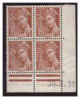 Coins Datés N° 416A - 1930-1939