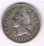 5 CENTAVOS 1972 DOMINICAANSE REPUBLIEK /3071/ - Dominicana