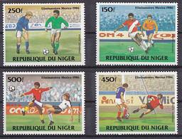 Soccer World Cup 1986 - NIGER - Set MNH - 1986 – México