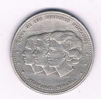 25 CENTAVOS 1986  DOMINICAANSE REPUBLIEK /3073/ - Dominicana