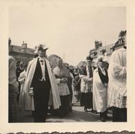 80100 ABBEVILLE - FÊTES MARIALES Le 22 AOÛT 1954 - LOT DE 28 PHOTOS ORIGINALES - Otros