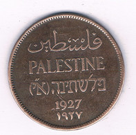 2 MILS 1927 PALESTINA /3079/ - Other - Asia