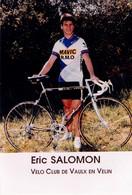 CYCLISME: CYCLISTE : ERIC SALOMON - Cycling