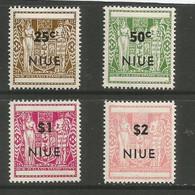 Niue - 1967  Postal Fiscals MNH **     SG 135-8 Sc 116-9 - Niue