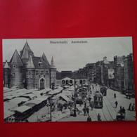 NIEUWMARKT AMSTERDAM TRAMWAY - Amsterdam