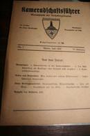 Militaria Allemagne Nazie Kameradfchaftsführer 1937 - 5. World Wars
