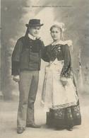 CPA 29 Finistère Mariés De Bannalec - Etude De Costumes - Bannalec