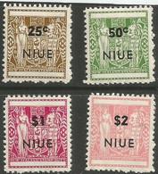 Niue - 1967  Postal Fiscals MNH **     SG 13t-8 Sc 116-9 - Niue