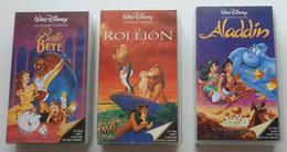 3 Cassettes Vidéo Disney - Cartoons