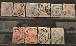 AUTRICHE - 1899/1902 - 10 Valeurs (voir Détail Et Scan) - Usati