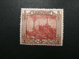 SARRE N° 100 Neuf Sans Charnière Voir 2 Scans Cote 58 € + 100 % - Nuovi