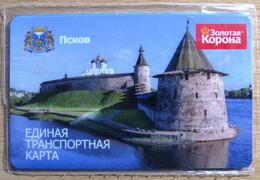 Russia Pskov Transport Card 2016 - Other