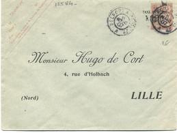 FRANCE -  ENTIER :LETTRE  - Type MOUCHON  N° 125 E 4 - Sobres Tipos Y TSC (antes De 1995)