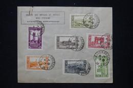 ALGÉRIE - Affranchissement D'Alger Sur Enveloppe De La Société  Des Voyages Et Hôtels Nord Africains En 1930 - L 94743 - Cartas