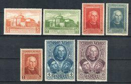 España 1930. Edifil 559-65 ** MNH. - Nuovi