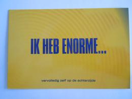 Pub Reclame  Ricard Ik Heb Enorme... - Boomerang - Publicidad