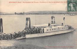QUILLEBEUF - Embarquement Des Troupes - Traversée De La Seine De Quillebeuf à Port Jérôme - 1908 - Altri Comuni