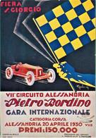 AUTOMOBILISMO. AUTODROMO. La Conduite Automobile. Piste De Course. Alessandria. Fiera San Giorgio. 31au - Grand Prix / F1