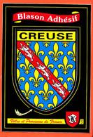 X23115 LA CREUSE (23) Blason Adhésif Héraldique Autocollant Pour Voiture Camping-Car Villes Provinces FRANCE KROMA 529 - Zonder Classificatie