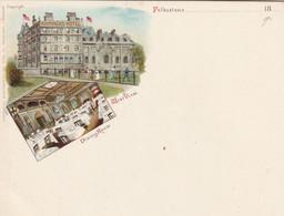 "FOLKESTONE : Mini CP Illustrée Du "" WAMPACH'S HOTEL"" (fin XIXème S.) - Other"