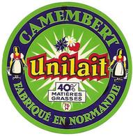 ETIQU. CAMEMB. 76 H UNILAIT Seine Maritime - Cheese