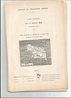 Chemin De Fer Valenciennes-anor -le Cateau-cambrai-maubeuge-avec Plan-1898-superbe Et Rare - Picardie - Nord-Pas-de-Calais