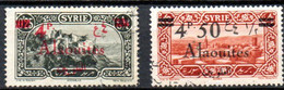 Alaouites: Yvert N° 43/44 - Used Stamps