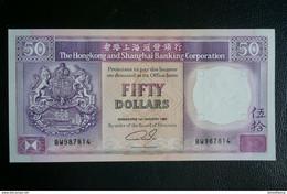 (M) 1992 HONG KONG OLD ISSUE HSBC 50 DOLLARS (UNC) - Hong Kong