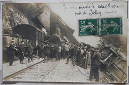 Catastrophe De Chemin De Fer Près De DELUY ( Doubs ) - Autres Communes