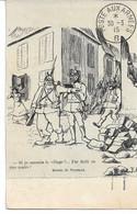 """CPA Franchise Militaire Dessin De Vilpelle """"Si Je Connais Le Village ? """"  Poste Aux Armées - Lettere In Franchigia Militare"""