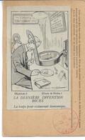 CPA Franchise Militaire Dessin De Ritchie La Dernière Invetion Boche La Loupe Pour Restaurant économique - Lettere In Franchigia Militare